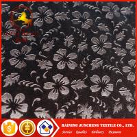 Wholesale Best seller 4 way stretch korea velour 3D embossed fabric for USA from china suppliers