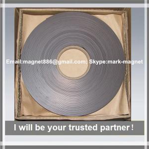Wholesale Magnetic strip; Flexible rubber magnet strip Магнитная лента 12,7 тип А и B без клеевого слоя from china suppliers