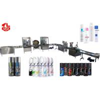 Wholesale Full Automatic Aerosol Filling Machine , Body Spray / Deodorant Filling Machine from china suppliers