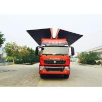 Wholesale 8X4 LHD Wing Van Cargo Truck Cargo Large Loading Capacity Commercial Vehicles from china suppliers