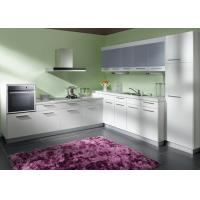 Pre assembled grey lacquer kitchen modern cabinets l for Ready made kitchen units for sale