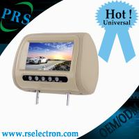 Wholesale New arrival car headrest dvd player with sd, usb, aux, game function from china suppliers