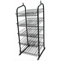Wholesale 5 Wire Whelves Shop Display Stands Supermarket Wire Display Racks from china suppliers