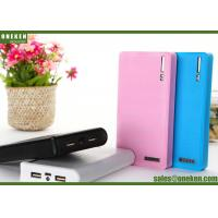 Wholesale Wallet 18650 Power Bank 60000mAh / 12000mAh With Built - In Smart Chip from china suppliers