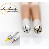 Wholesale 2 Head  Multifunctional Metal Handle Microblading Tools for Tattoo Embroidery from china suppliers