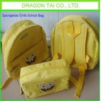 Wholesale Customized Spongebob Child School Bag from china suppliers
