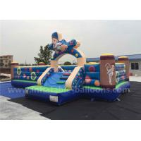 Wholesale Giant Commercial Inflatable Fun Park / Inflatable Bouncer Castle For Children from china suppliers