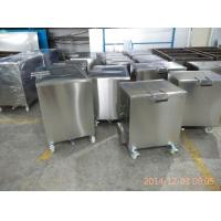 Wholesale 316 Stainless Steel Kitchen Soak Tank With Lockable Castor Wheels for BBQ grill plate from china suppliers