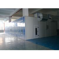 Wholesale LED Light Professional Garage Spray Booth , Rear Side Draft Paint Booth from china suppliers