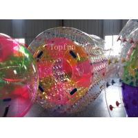 Wholesale Water Game Colorful Inflatable Water Roller 1.0mm PVC Fire - Resistence from china suppliers