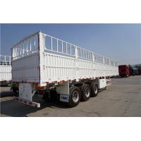Wholesale tons per 40ft container fence semi trailer in truck trailer - CIMC from china suppliers