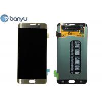 Wholesale 2560 * 1440 Pixels Samsung Galaxy S6 Edge Plus LCD Screen Replacement 5.7 Inch from china suppliers