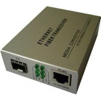 China 10/100m Ethernet Optical Fiber Converter/Switch with one or two ports on sale