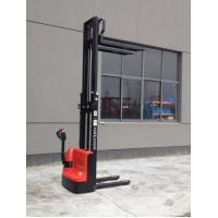 Wholesale 1T DC/24V Full Electric Stacker Trolley with 3m Lifting Height Battary walkier stacker from china suppliers