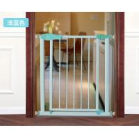 Wholesale Unique Door Babies Safety Gates / Child Safety Gates For Stairs Green from china suppliers