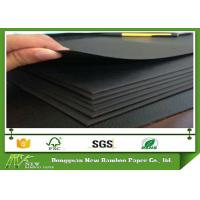 Wholesale Anti-Curl RecycledWood Pulp BlackPaperboardfor Shopping Bags from china suppliers