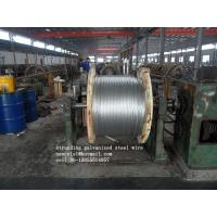 Wholesale AISI ASTM BS DIN JIS High Tension 3.05mm Galvanized Steel Strand EHS Cable from china suppliers