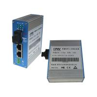 Wholesale Dual Fiber Multi Mode Industrial Media Converter 10M / 100M For Data Transmission from china suppliers