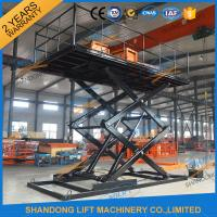 Quality Four Cylinders Hydraulic Platform Lift With CE for sale