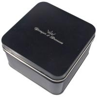 Wholesale Empty Gift Tin With Black Color Printed ,Watch Packaging Box ,Looks Graceful And Great from china suppliers