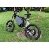 Wholesale Full Suspension Steel Electric Road Legal Enduro Bike 7 Speed Mountain Bike 80km/h from china suppliers