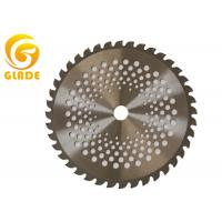 Quality 25cm 40 Teeth Round Brush Cutter Blades Alloy Steel Garden Tools Spare Parts for sale