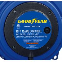 Buy cheap 12/3 40ft Wall Mounted Extension Cord Reel Goodyear Cable Reel from wholesalers