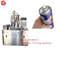 Wholesale Automatic Car Windows Spray Filling Machine , Aerosol Can Filling System from china suppliers