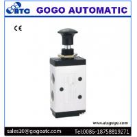 "Wholesale Pneumatic 2 Position 5 Way Air Valve , 1/8"" Port Manual Hand Operated Air Valve from china suppliers"