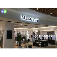 Quality Shopping Mall LED Backlit Sign Box LED Channel Letter Signs Display 4 CM Thick for sale