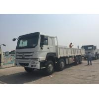 Wholesale Diesel Engine Cargo Truck SINOTRUK HOWO HW76 Cabin 30 - 60 Tons Top Configuration from china suppliers