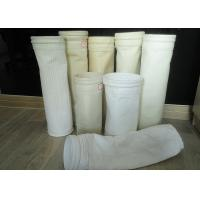 Needle punched Nonwoven Dust Filter Bag Nomex / PPS / FMS filter fabric