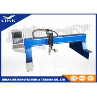 Wholesale Aluminum / Stainless Steel Flame Gantry Plasma Cutting Machine / Cnc Plasma Cutter from china suppliers