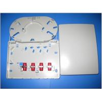 Wholesale Indoor Surface Mounted FTB Fiber Optic Termination Box with ABS / Plastic 4 Core from china suppliers