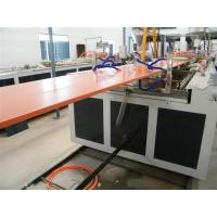 Wholesale 800 - 1000mm Wide Plastic Pvc Door Panel Extrusion Making Machine 600KG/H Capacity from china suppliers