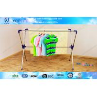 Wholesale Sturdy X-type Metal Clothes Drying Rack Collapsible Extended For Household from china suppliers