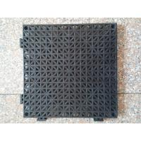 Thicker PVC perforated interlocking floor tiles