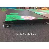 Wholesale Waterproof P10 Light Weight Led Dance Floor Full Color For Disco / Dj Bar from china suppliers