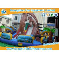 Wholesale Pirate Large Inflatable Games Inflatable Fun City Water Park For Outdoor Events from china suppliers