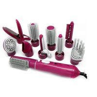 Wholesale DC Motor Heated Styling Brush , Hot Rotating Hair Styler Temperature Control from china suppliers