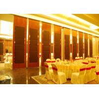 Wholesale Hanging Office  Aluminum Sliding Doors , Banquet Hall Partition Wall , Ceiling Track from china suppliers