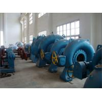 Wholesale 500KW 1600KW Small Hydro Turbines Horizontal Francis Water Turbine from china suppliers