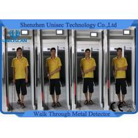 Wholesale Body Scanner Walk Through Gate Metal Detector Door Frame For Bank Projects , 300 Sensitivity Level from china suppliers
