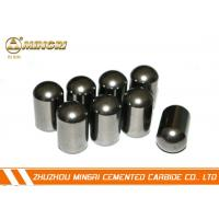 Wholesale Customized Flat Top Tungsten Carbide Buttons / Cemented Carbide Button from china suppliers