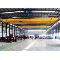 Buy cheap 5ton 10ton  single girder  electric hoist EOT bridge overhead Crane  For Steel Structure Worshop from wholesalers