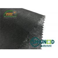 China Black Non Woven Polypropylene Fabric Nonwoven Technic For Bag / Garment for sale