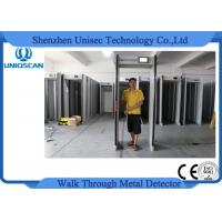 Wholesale High Sensitivity Door Frame Metal Detector Walk Through Security Metal Detectors For Park UZ800 from china suppliers