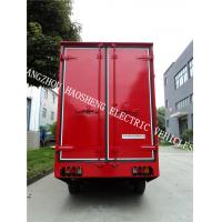 Wholesale Flexible Steering Red Electric Cargo Van 48 Battery Power 4 Tons Load Capacity from china suppliers
