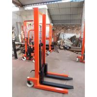 Buy cheap Warehouse equipment forklift trucks manual stackers lift fork from wholesalers