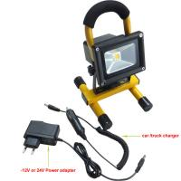 Wholesale Outdoor garden light 10w solar led flood lightings with high quality and competitive price from china suppliers